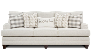 Charles of London Cream Berber Sofa