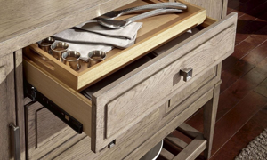Picture of Bridgewater Weathered Oak Sideboard