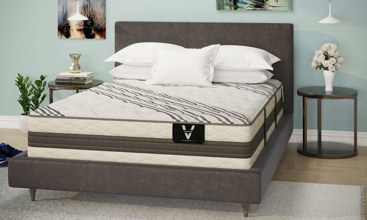 "VERITAS VH5000 Plush Hybrid 13.5"" Mattresses"