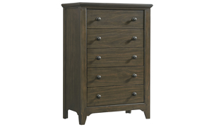 Intercon Tahoe River Rock Five-Drawer Chest