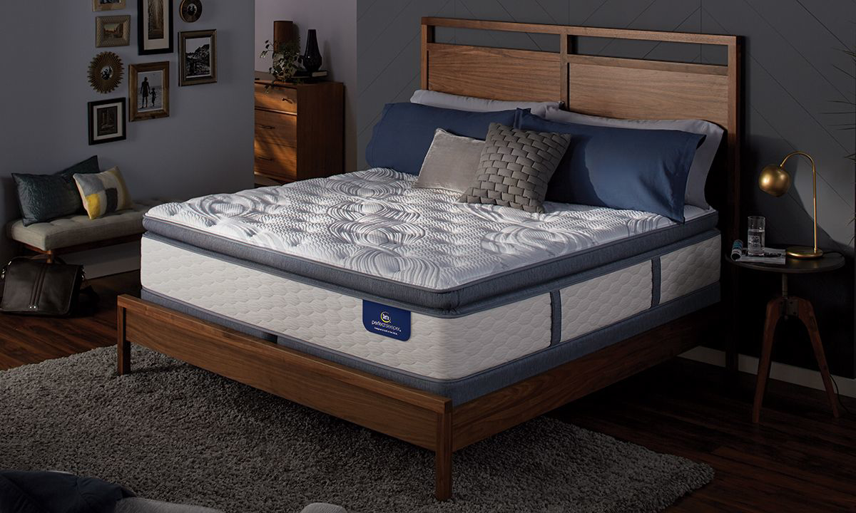 "Serta Perfect Sleeper® 13.75"" Plush Pillowtop King Hybrid Mattress"