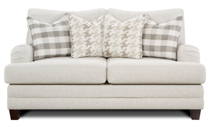 Picture of Charles of London Cream Berber Loveseat