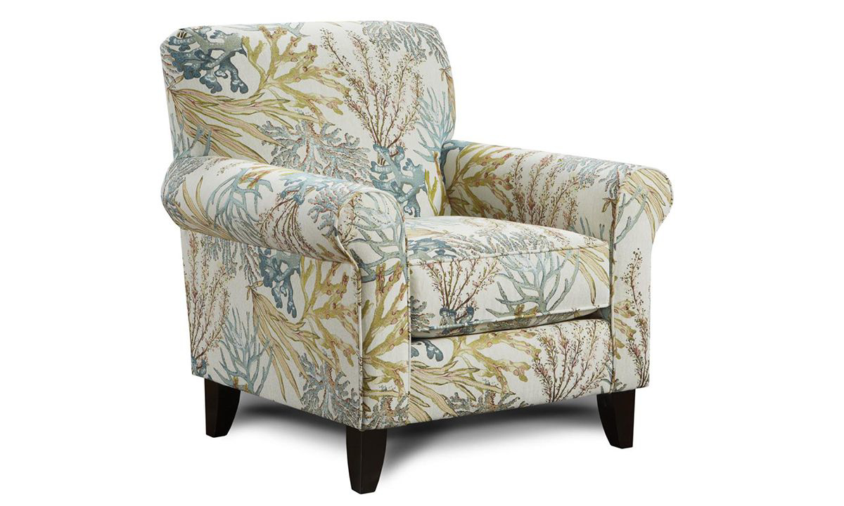 Picture of Coral Reef Caribbean Arm Chair