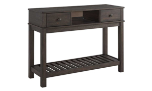 Salem Acacia Cocoa Counter Height Server