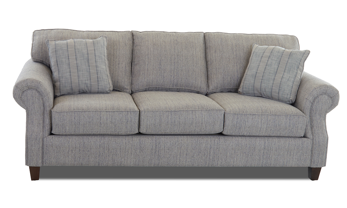 Klaussner Serena 92-Inch Roll Arm Sofa