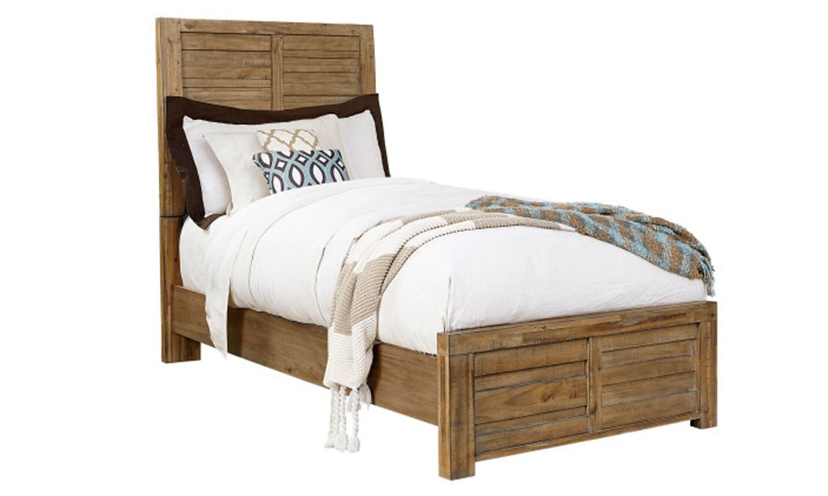 Picture of Soho Urban Rustic Acacia Twin Panel Bed
