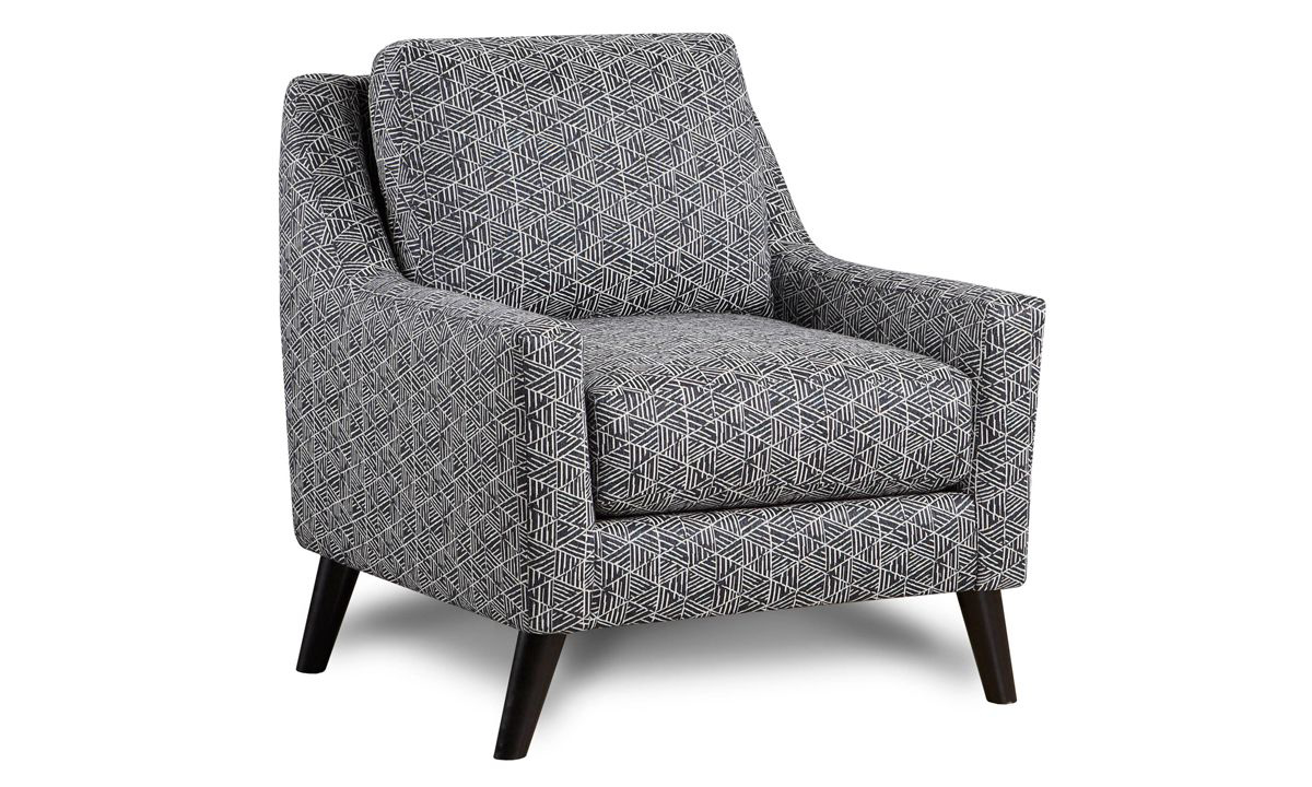 Picture of Mix it Up Denim Arm Chair