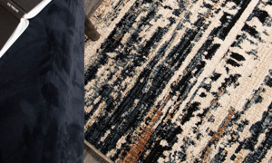 Adilah Tree Tracks Indigo Area Rugs