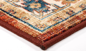 Amira Tazum Red Area Rugs
