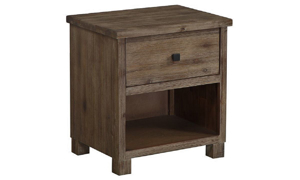 Picture of Modus Ravine 1-Drawer Nightstand Sandstone