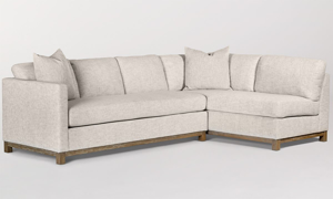 Picture of Alder & Tweed Clayton Alabaster RAF Sectional