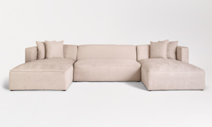 Alder & Tweed Haven Champagne Sectional