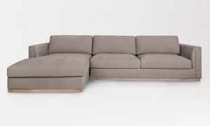 Alder & Tweed Maddox French Latte Sectional