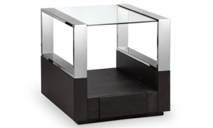 Magnussen Home Revere Graphite End Table