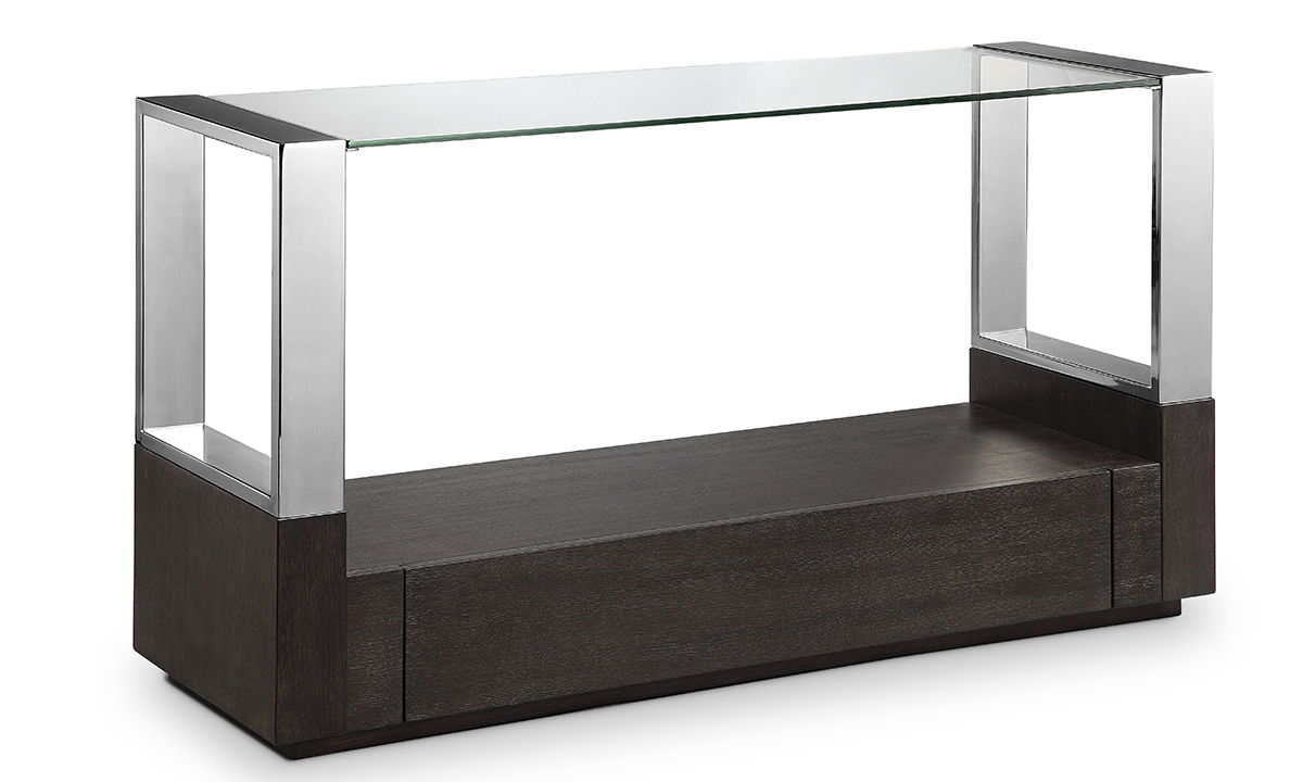 Magnussen Home Revere Graphite Sofa Table