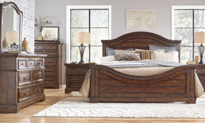 Stonebrook  Brown 6-Drawer Chest