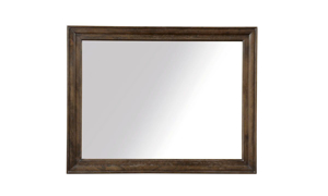 48-inch mirror with warm coffee brown frame from the A R T St. Germain Bedroom Set