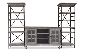 Summerhouse Cottage 3-Piece Entertainment Wall Unit