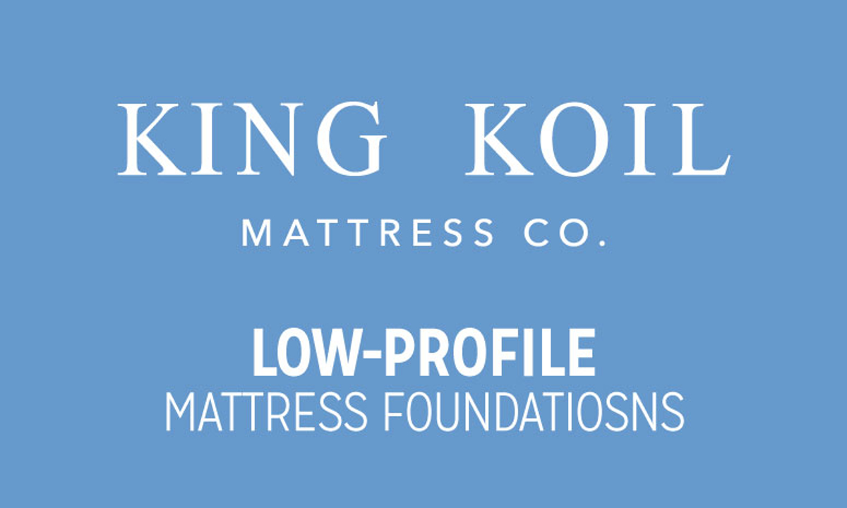 King Koil 5-Inch Low Profile Mattress Foundations