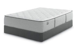 Restonic Biltmore Tight Top Mattress and Enso Wireless Power Adjustable Base