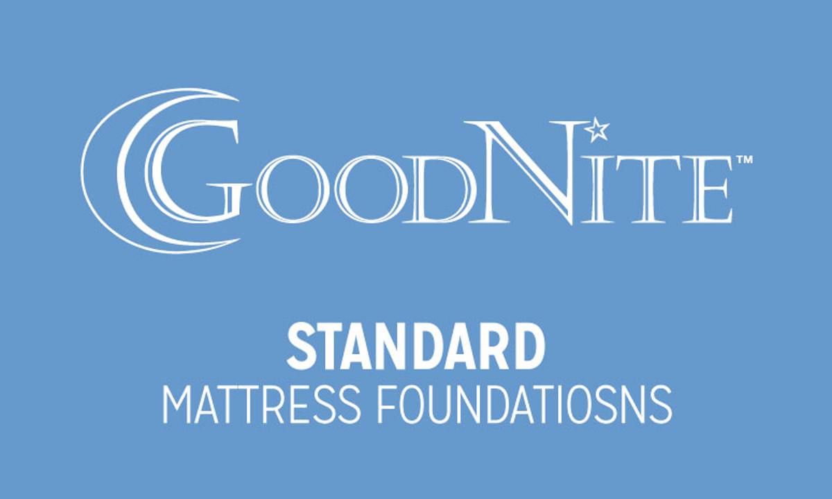 "Goodnite Sunrise 9"" Standard Mattress Foundations"