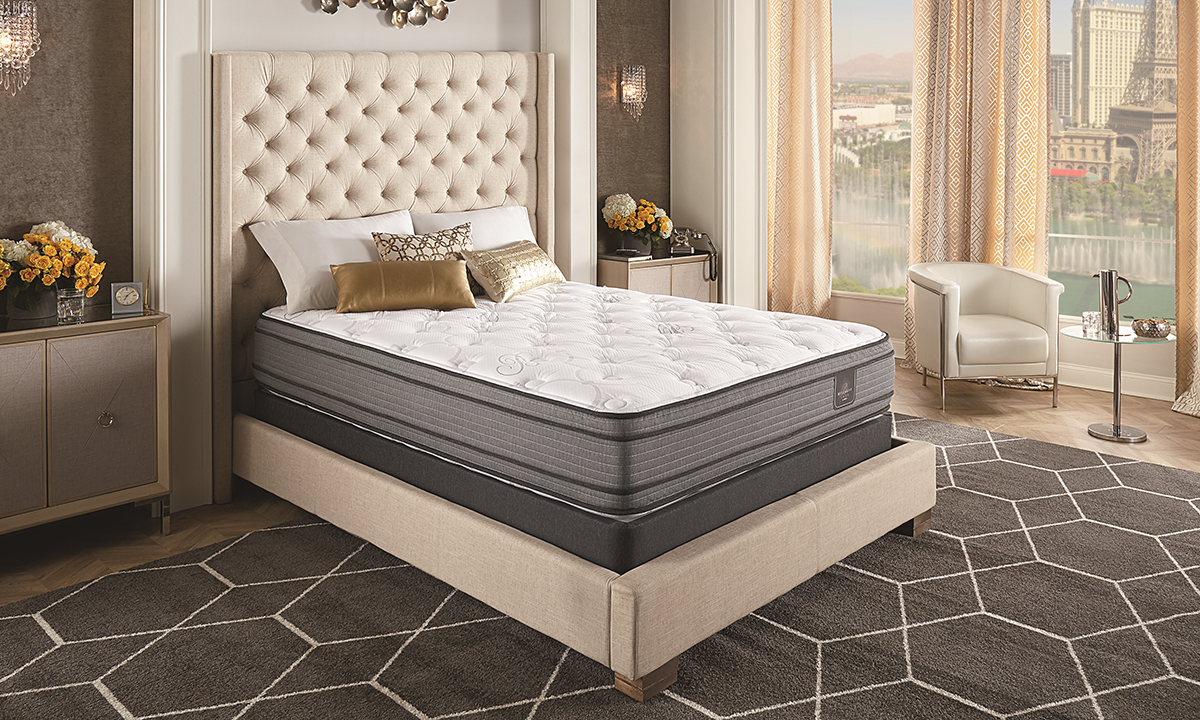 """Serta® Bellagio® Luxe Pillow Top 14"""" Two-Sided Mattresses"""
