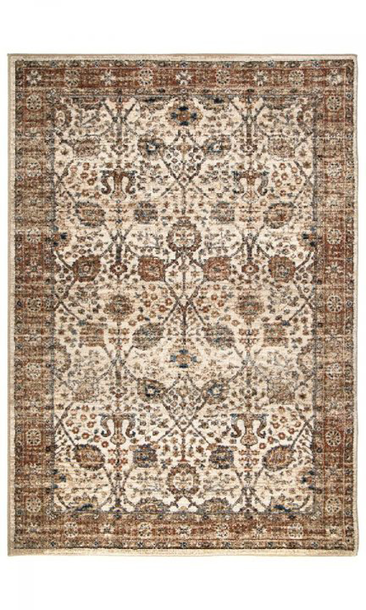 Picture of Aziza Tree of Life Cream Area Rugs