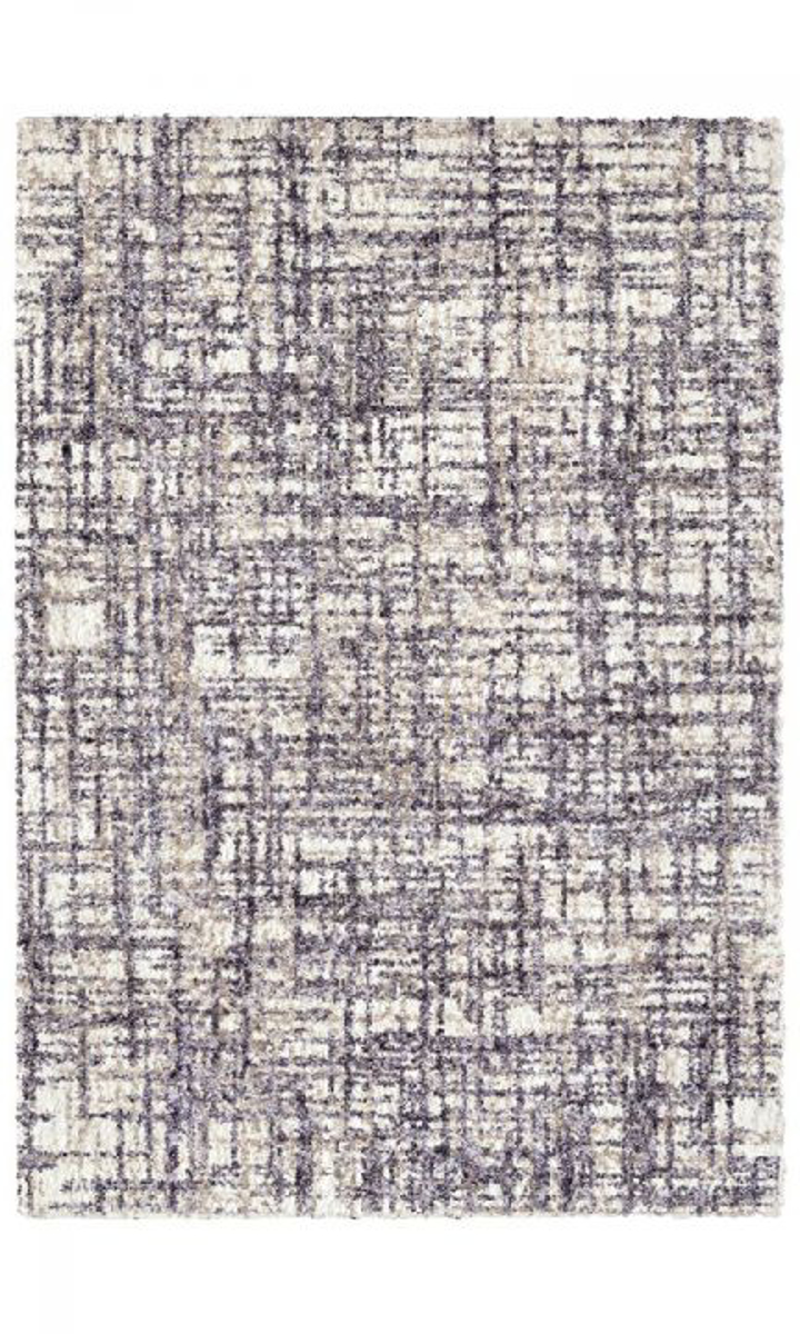 Picture of Chaima Cross Thatch Taupe Area Rugs