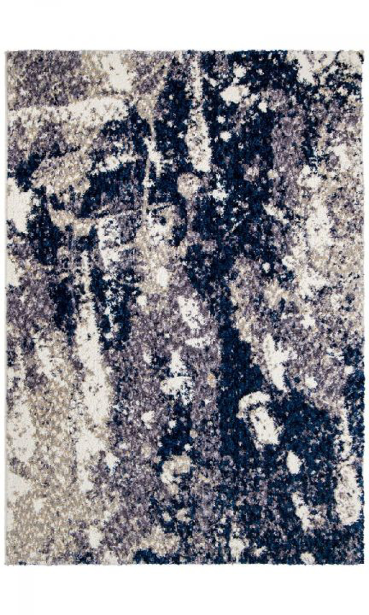 Picture of Chaima Expose Blue Area Rugs