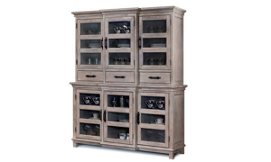 Summerhouse Cottage Breakfront China Cabinet