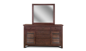 Picture of Modus Plantation Solid Island Pine Queen Sleigh Bedroom