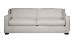 Handmade in the USA the Danfield Linen couch is affordable and durable.