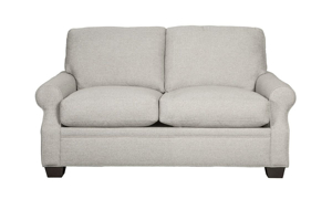 Carolina Custom Larkspur Loveseat Flax