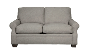 Carolina Custom Larkspur Loveseat Charcoal