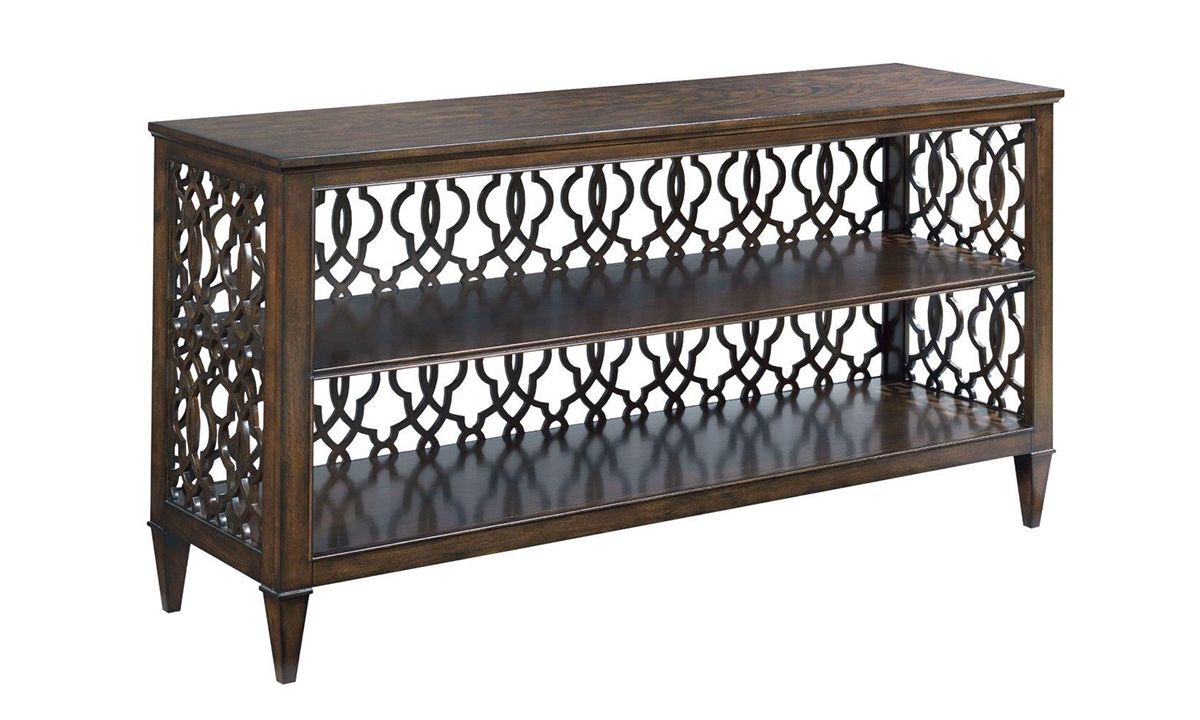Picture of Grantham Hall Coffee Brown Console Table