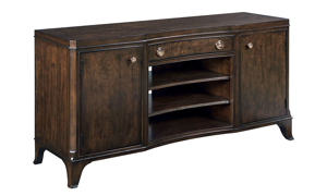 Picture of Grantham Hall Coffee Brown Entertainment Console