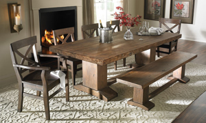 Picture of Cape Town Acacia Wood Dining Table