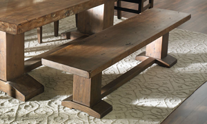 Picture of Cape Town Acacia Wood Dining Bench
