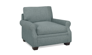 Carolina Custom Larkspur Chair Sea Blue