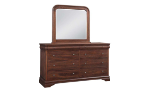 Louis Philippe French Classic Sleigh Bedroom Sets