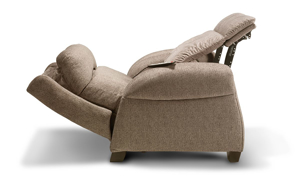 Picture of Infinite Motion Saturn Driftwood Zero Gravity Power Recliner