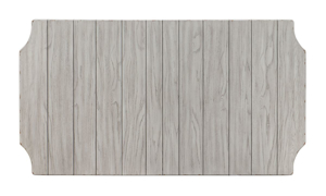 Belhaven Weathered White Dining Table