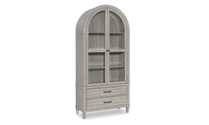 Belhaven Weathered White Display Cabinet