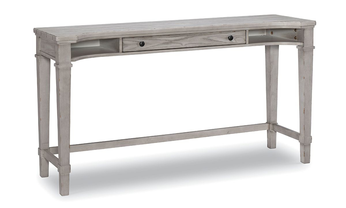 Belhaven Weathered White Console Desk