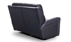 Picture of Infinite Motion Metro Horizon Dual Power Reclining Leather Loveseat