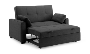 Nantucket Full Sleeper Loveseat Charcoal