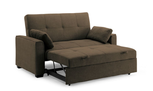 Picture of Nantucket Full Sleeper Loveseat Cappuccino