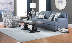 Picture of Aramis Royal Blue Accent Chair