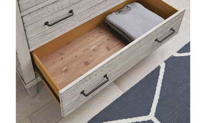 Picture of Belhaven Weathered White 8-Drawer Dresser