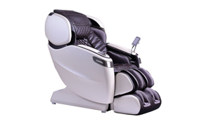 Picture of Cozzia Qi SE Espresso Pearl Massage and Acupoint Heat Therapy Power Recliner